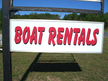 Glen Lake Marine Boat Rentals in Glen Lake Michigan Main Logo